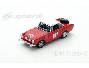 Spark Model S4061 SUNBEAM N.107 11th MONTE CARLO 1965 P.TURVEY-A.COWAN 1:43 Modellino