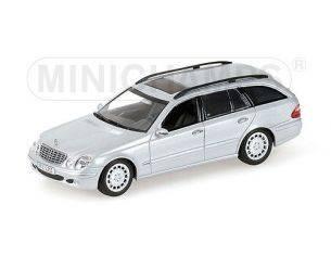 Minichamps PM400031512 MERCEDES E CLASS STATION WAGON 2003 SILVER 1:43 Modellino