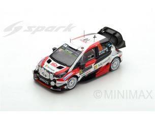 Spark Model S5163 TOYOTA YARIS WRC N.10 2nd MONTE CARLO 2017 J.M.LATVALA-M.ANTTILA 1:43 Modellino