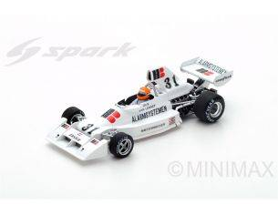 Spark Model S5301 ENSIGN N174 G.VAN LENNEP 1975 N.31 10th DUTCH GP 1:43 Modellino