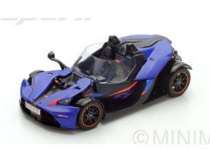 Spark Model S5663 KTM X-BOW GT 2016 PURPLE 1:43 Modellino
