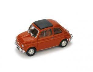 Brumm BM0465-02 FIAT 500 L 1968-72 CHIUSA ROSSO CORALLO SCURO 1:43 Modellino