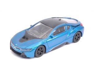 Ixo model RAT58400B BMW i8 2015 METALLIC BLUE 1:43 Modellino