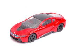 Ixo model RAT58400R BMW i8 2015 RED 1:43 Modellino