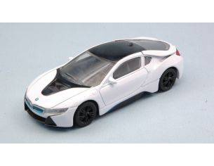 Ixo model RAT58400W BMW i8 2015 WHITE 1:43 Modellino