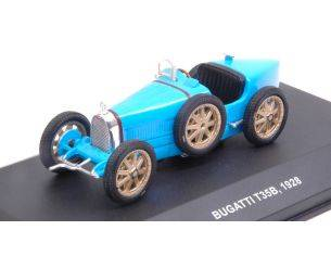 Solido SL4302600 BUGATTI T35B 1928 LIGHT BLUE 1:43 Modellino