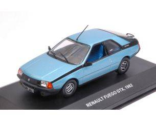 Solido SL4302800 RENAULT FUEGO GTX 1982 LIGHT BLUE 1:43 Modellino