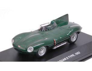 Solido SL4303000 JAGUAR D TYPE 1952 GREEN 1:43 Modellino