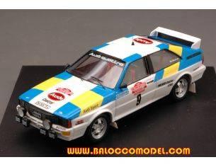 Trofeu TF1606 AUDI QUATTRO N.9 WINNER S.REMO 1982 S.BLOMQVIST-B.CEDERBERG 1:43 Modellino