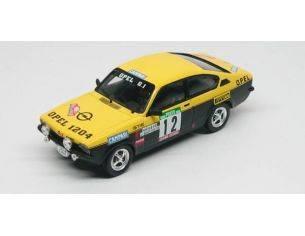Trofeu TF2101 OPEL KADETT GTE N.12 3rd RALLY PORTUGAL 1976 MEQUEPE-M.VILAR 1:43 Modellino