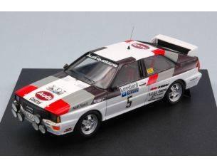 Trofeu TF1604 AUDI QUATTRO N.5 WINNER R.A.C.1981 H.MIKKOLA-A.HERTZ 1:43 Modellino