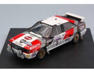 Trofeu TF1609 AUDI QUATTRO N.3 WINNER  R.A.C.1983 S.BLOMQVIST-B.CEDERBERG 1:43 Modellino