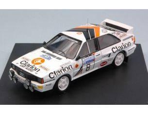 Trofeu TF1617 AUDI QUATTRO N.8 4th R.A.C. 1985 P.EKLUND-B.CEDERBERG 1:43 Modellino
