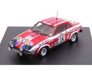 Trofeu TF2009 TRIUMPH TR7 N.14 9th SCOTTISH RALLY 1980 R.CLARK-J.PORTER 1:43 Modellino