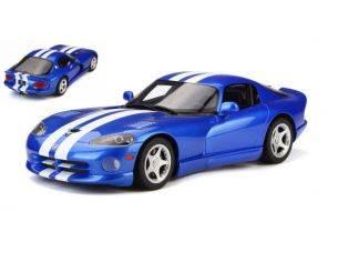 Ixo model GT136 DODGE VIPER GTS VIPER BLUE 1:18 Modellino