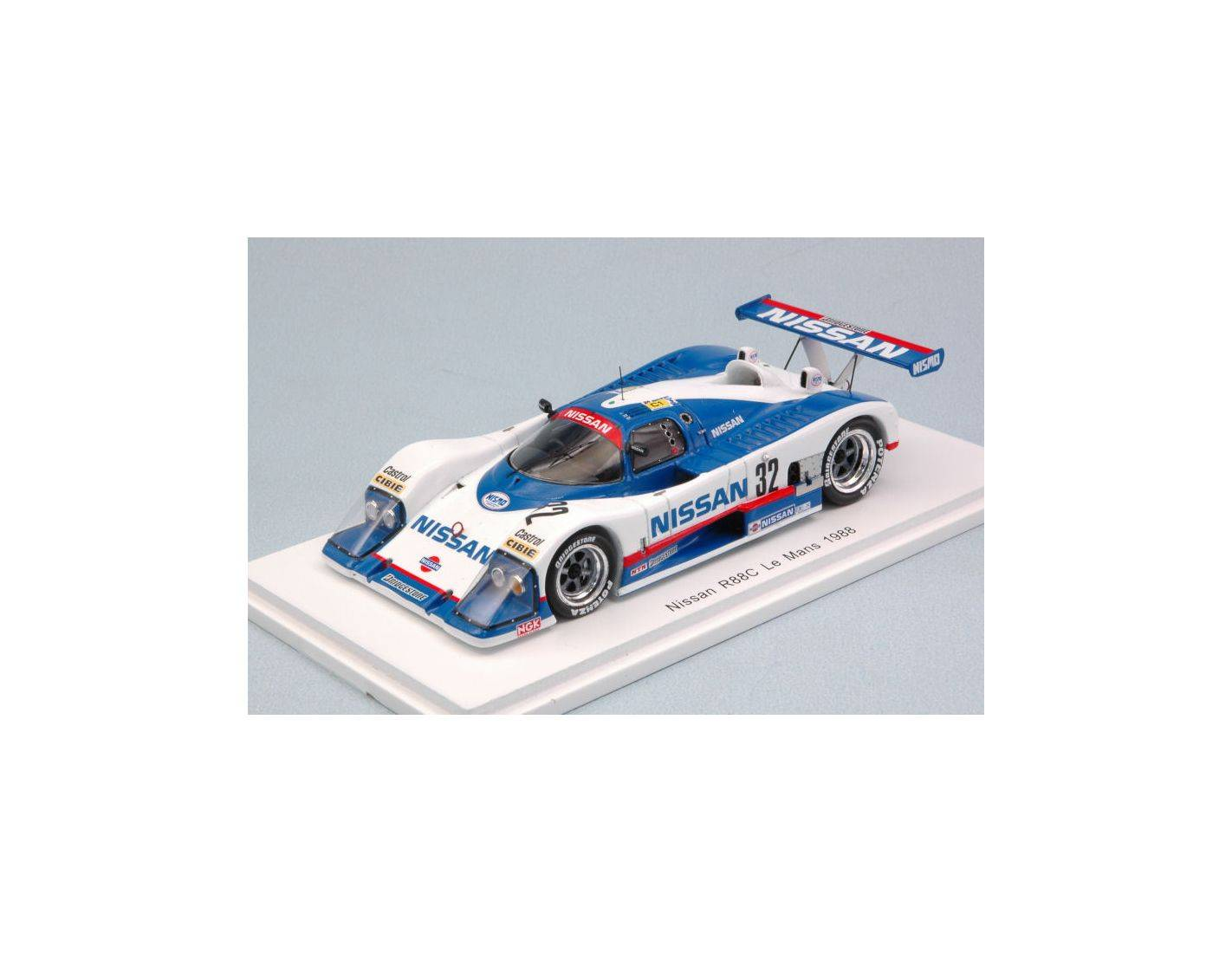 Spark Model S5081 NISSAN R88C N.32 14th LM 1988 A-GRICE-M.WILDS-W.PERCY 1:43 Modellino