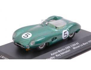Ixo model LM1959 ASTON MARTIN DBR1 N.5 WINNER LM 1959 SHELBY-SALVADORI REPROD.1:43 Modellino