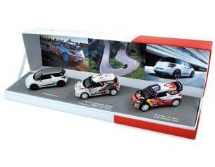 Norev NV155354 COFFRET CITROEN DS3 RACING+DS3 R3+ DS3 WRC MONTE CARLO 2012 1:43 Modellino