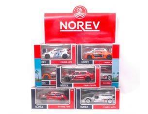 Norev NV430300 DISPLAY 24 PCS JET CAR COURSE AUTO 1:43 Modellino