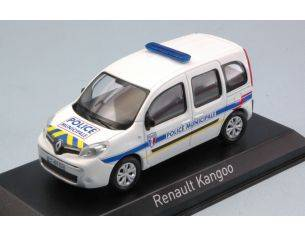 Norev NV511324 RENAULT KANGOO 2013 POLICE MUNICIPALE YELLOW & BLUE STRIPPING 1:43 Modellino