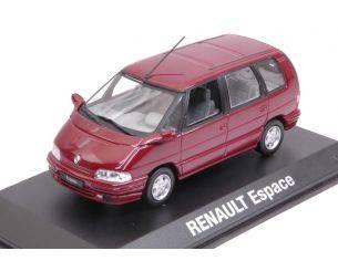 Norev NV7711575953 RENAULT ESPACE 1992 MALAGA RED METALLIC 1:43 Modellino
