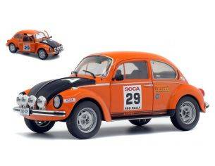 Solido SL1800506 VW BEETLE 1303S N.29 SCCA NATIONAL PRO RALLY 1980 1:18 Modellino