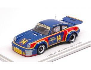 Spark Model S43SE76 PORSCHE 911 RSR 3.0 N.14 WINNER 12H SEBRING 1976 A.HOLBERT-M.KEYSER 1:43 Modellino