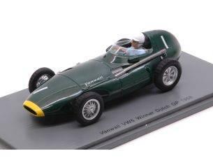 Spark Model S4870 VANWALL VW57 STIRLING MOSS 1958 N.1 WINNER DUTCH GP 1:43 Modellino