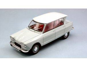 White Box WB124026 CITROEN AMI 6 GREEN/WHITE 1:24 Modellino