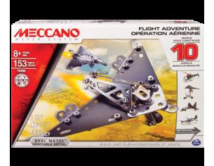 Meccano MEC6026717 AEREO FLIGHT ADVENTURE 10 IN 1 PZ.153 Modellino