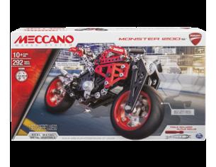 Meccano MEC6027038 DUCATI MONSTER 1200 S PZ.292 Modellino