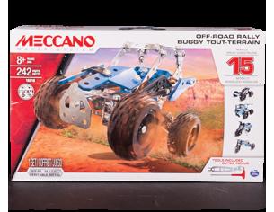 Meccano MEC6028580 ATV OFF ROAD BUGGY 15 IN 1 PZ.242 Modellino