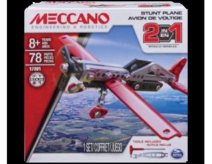 Meccano MEC6036041 AEREO STUNT PLANE 2 IN 1 PZ.78 Modellino