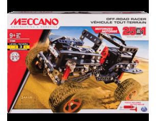 Meccano MEC6037616 OFF ROAD RACER C/MOTORE A BATT.25 IN 1 Modellino