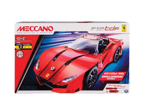 Meccano MEC6038187 FERRARI F12 TDF Modellino