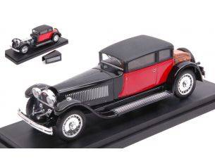 Rio RI4227-E BUGATTI 41 ROYALE WEYMANN 1929 BLACK/RED NORMAL BOX 1:43 Modellino
