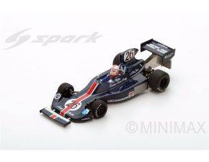 Spark Model S2240 HESKETH 308 A.JONES 1975 N.26 RETIRED MONACO GP 1:43 Modellino
