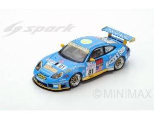 Spark Model S5517 PORSCHE 996 GT3 RS N.81 16th LM 2002 K.BUCKLER-T.BERNHARD-L.LUHR 1:43 Modellino