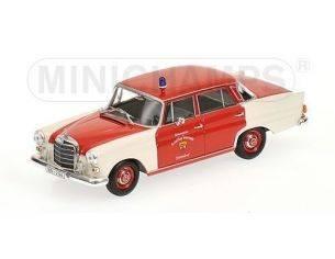 Minichamps PM400037290 MERCEDES 200 POMPIERI SCHRNDORF 1965 1:43 Modellino