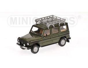 Minichamps PM400038001 MERCEDES 230 GE 1981 GREEN MET.1:43 Modellino