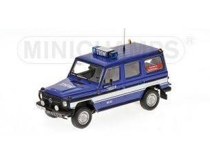 Minichamps PM400038091 MERCEDES 230 GE W460 1991 THW SAARBRUCKEN 1:43 Modellino