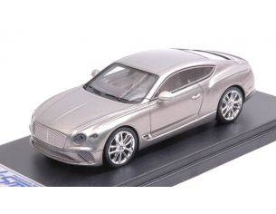 Looksmart LSBT013B BENTLEY NEW CONTINENTAL GT 2018 EXTREME SILVER 1:43 Modellino