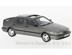 Neo Scale Models NEO43669 SAAB 9000 CS 1995 MET.GREY 1:43 Modellino