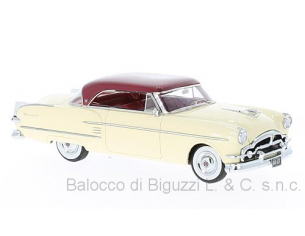 Neo Scale Models NEO44677 PACKARD PACIFIC COUPE' 1954 WHITE/RED 1:43 Modellino