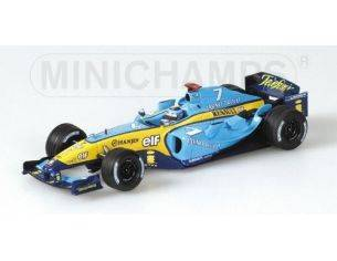 Minichamps PM400040007 RENAULT J.TRULLI 2004 1:43 Modellino