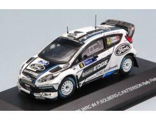 Trofeu TFMNP505 FORD FIESTA WRC N.4 4th RALLY FINLAND 2012 SOLBERG-PATTERSON 1:43 Modellino