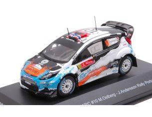 Trofeu TFMNPRP2012 FORD FIESTA WRC N.10 WINNER RALLY PORTUGAL 2012 OSTBERG-ANDERSSON 1:43 Modellino