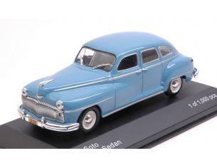 White Box WB282 DESOTO 4-DOOR SEDAN 1946 LIGHT BLUE 1:43 Modellino