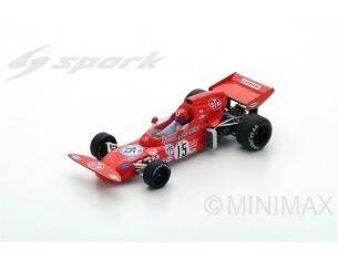 Spark Model S5363 MARCH 721X N.LAUDA 1972 N.15 7th ARGENTINA GP 1:43 Modellino