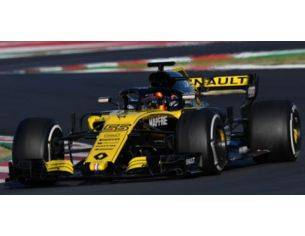 Spark Model S6056 RENAULT F1 R.S.18 C.SAINZ JR 2018 N.55 9th CHINESE GP 1:43 Modellino